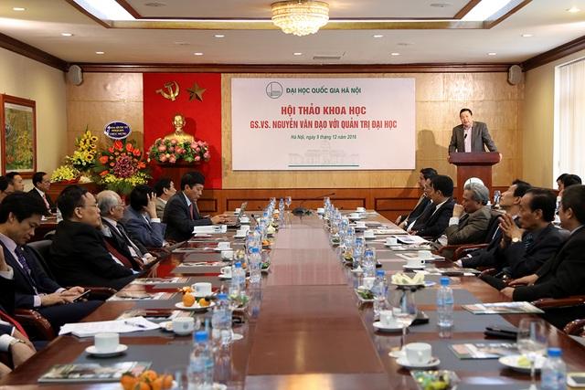 GS Nguyễn Văn Đạo, người mở đường tự chủ đại học - 1