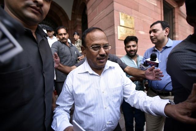Cố vấn An ninh Quốc gia Ấn Độ Ajit Doval. (Ảnh: Blomberg)