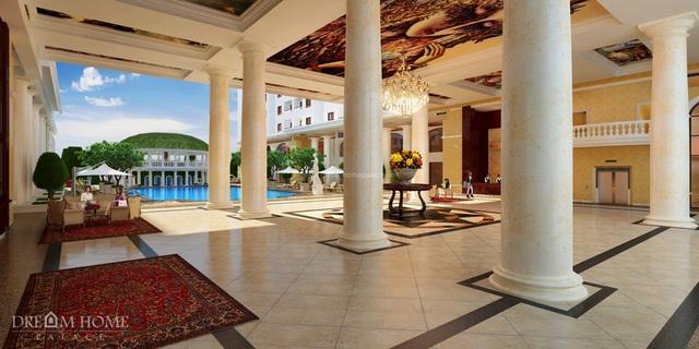 Sảnh đón sang trọng mang phong cách châu Âu tại dự án Dream Home Palace