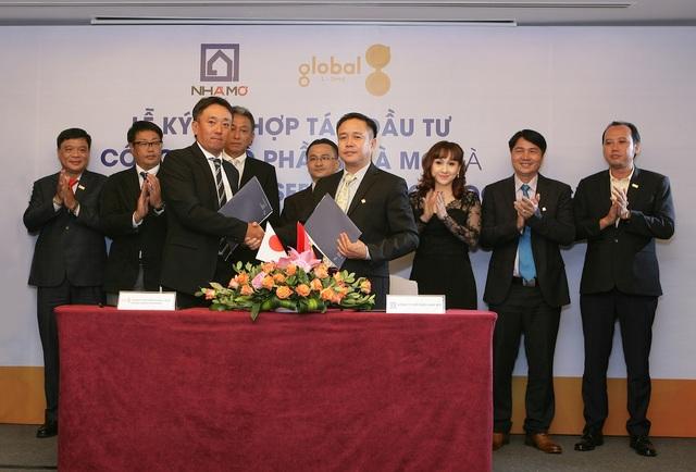Lễ ký kết hợp tác giữa Tập đoàn The Global Group và Công ty Cổ phần Nhà Mơ