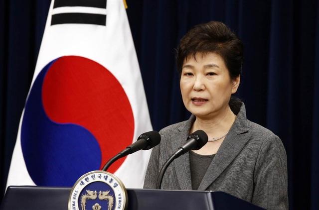 Tổng thống Hàn Quốc Park Geun-hye. (Ảnh: Reuters)
