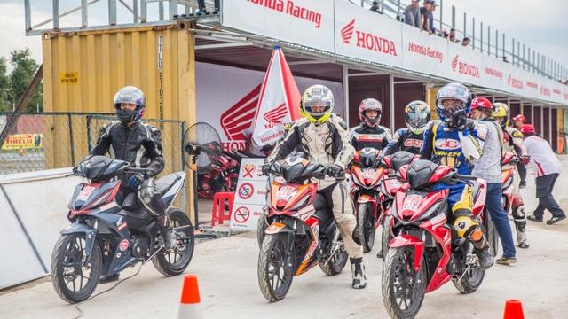 Honda Việt Nam tiếp tục mang giải đua xe đến tỉnh Bình Dương - 3