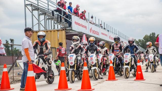 Honda Việt Nam tiếp tục mang giải đua xe đến tỉnh Bình Dương - 9