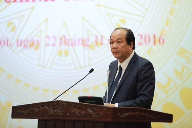 Bộ trưởng-Chủ nhiệm Văn phòng Chính phủ khẳng định quan hệ Việt-Nga, Viêt-Nhật không bị tổn hại sau quyết định dừng làm điện hạt nhân. (Ảnh: P.T)