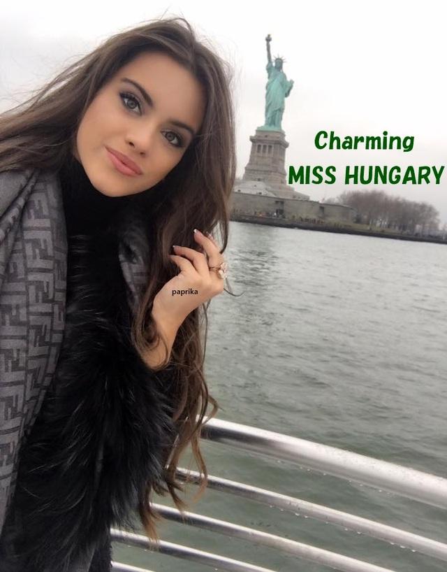 Hoa hậu Hungary đẹp nổi bật