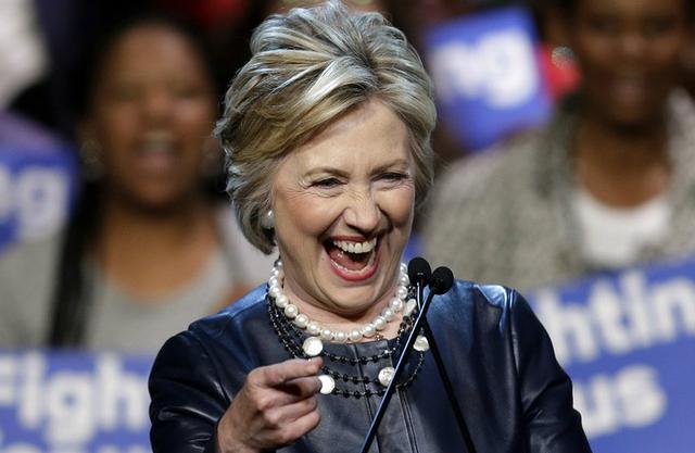 Ứng viên tổng thống Dân chủ Mỹ Hillary Clinton. (Ảnh: AFP)