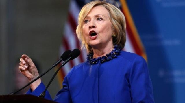 Ứng viên tổng thống đảng Dân chủ Mỹ Hillary Clinton. (Ảnh: AFP)