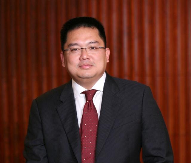 Ông Hoàng Nam Tiến, Chủ tịch Công ty Phần mềm FPT.