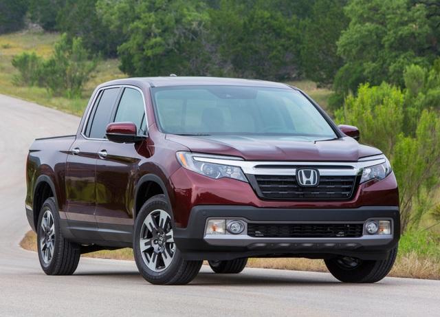 Bán tải cỡ trung: Honda Ridgeline