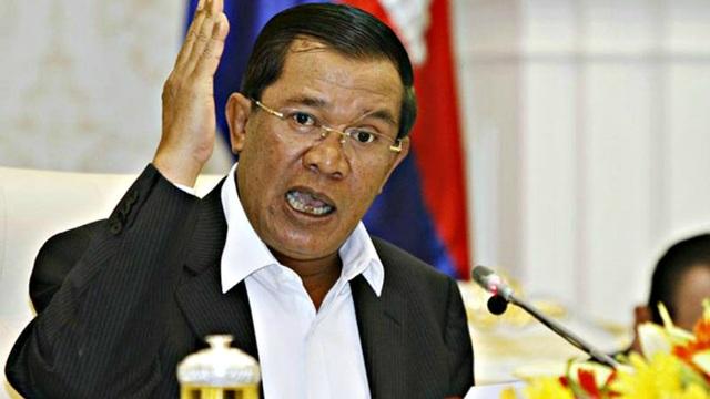 Thủ tướng Campuchia Hun Sen. (Ảnh: Reuters)