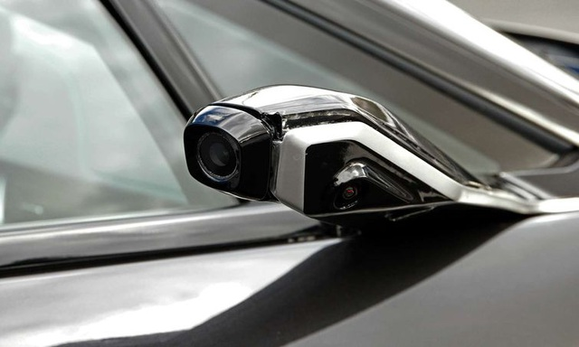 Thiết kế không gương cửa của xe BMW i8