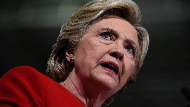 Cựu Ngoại trưởng Hillary Clinton. (Ảnh: AFP)