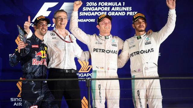Nico Rosberg thắng tuyệt đối tại chặng đua Singapore - 5