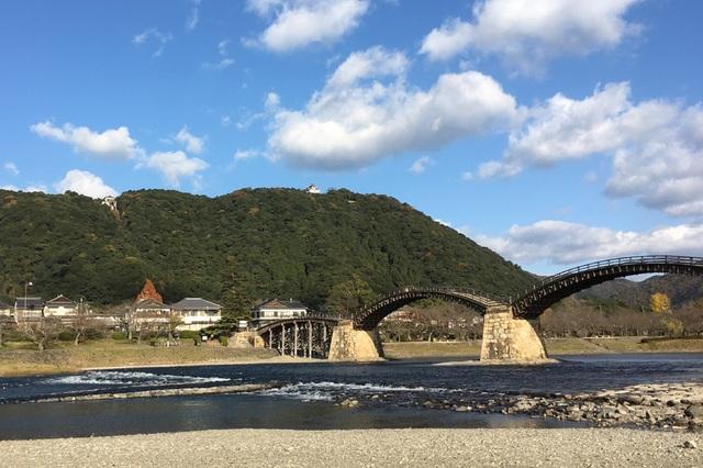 Kintaikyo là một trong những cây cầu đẹp nhất Nhật Bản. (Ảnh: An Bình)