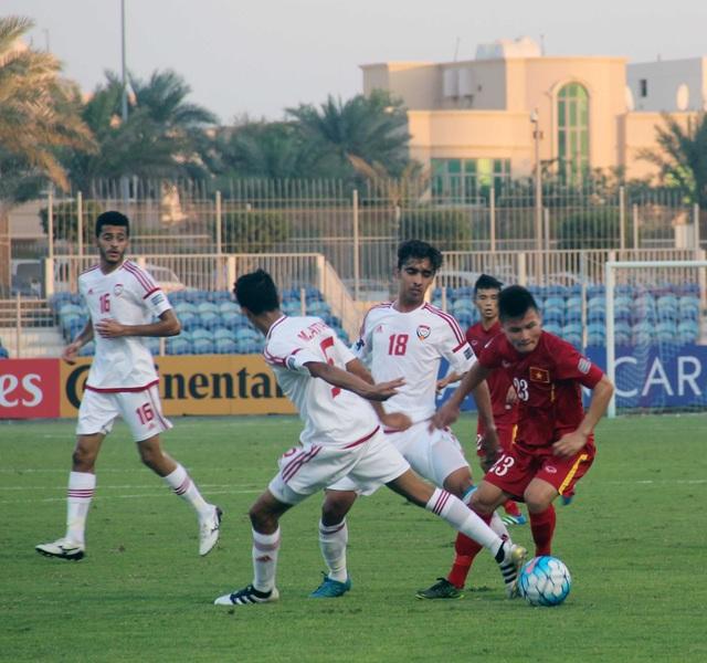 U19 Việt Nam đã chơi đầy kiên cường và dẫn bàn sau khi kết thúc hiệp 1