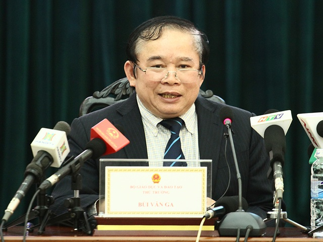 Thứ trưởng Bùi Văn Ga.