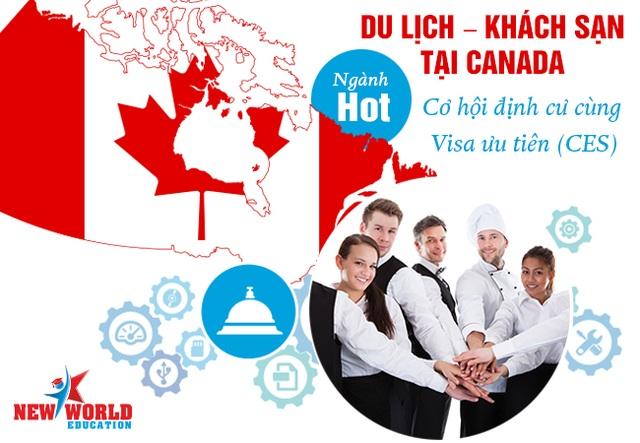 Du lịch – Khách sạn ngành Hot cơ hội việc làm và đinh cư tại Canada 2017 - 1