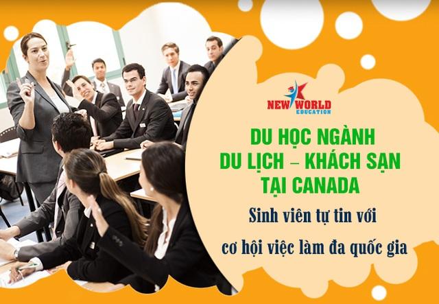 Du lịch – Khách sạn ngành Hot cơ hội việc làm và đinh cư tại Canada 2017 - 3