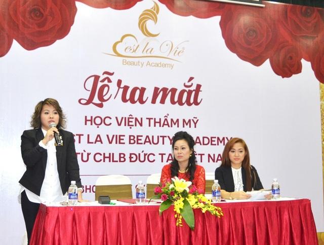 Lễ ra mắt và Hội thảo dạy nghề làm đẹp của học viện C'est La Vie - Đức tại Việt Nam - 4