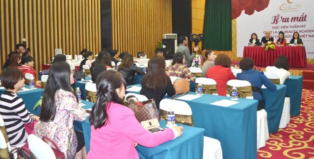 Lễ ra mắt và Hội thảo dạy nghề làm đẹp của học viện C'est La Vie - Đức tại Việt Nam - 11