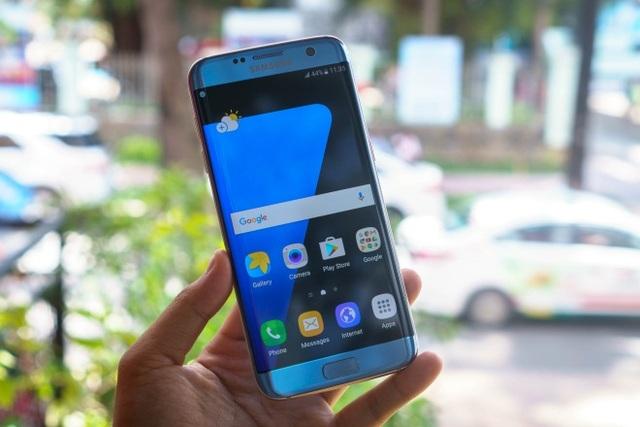 7 sắc thái trong ngôn ngữ thiết kế của Galaxy S7 edge Xanh Coral - 3