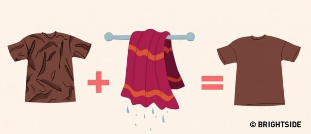 Những cách làm phẳng quần áo mà không cần bàn là - 6
