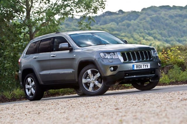 Jeep Grand Cherokee về thiết kế là crossover nhưng vẫn thường được gọi là SUV