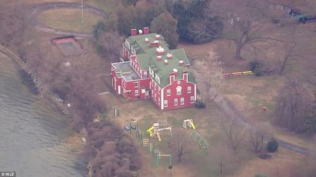 Một trong hai khu nhà do Nga sở hữu bị chính quyền Mỹ yêu cầu đóng cửa khẩn cấp là khu nhà ở Pioneer Point của Maryland. (Ảnh: Dailymail)