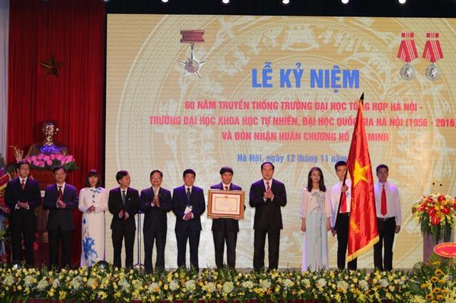 Tạo điều kiện để ĐH Khoa học tự nhiên đạt mục tiêu thuộc nhóm 100 trường ĐH hàng đầu châu Á - 4