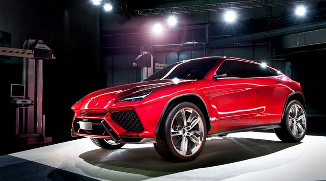 Urus sẽ là xe hybrid sạc điện đầu tiên của Lamborghini - 1