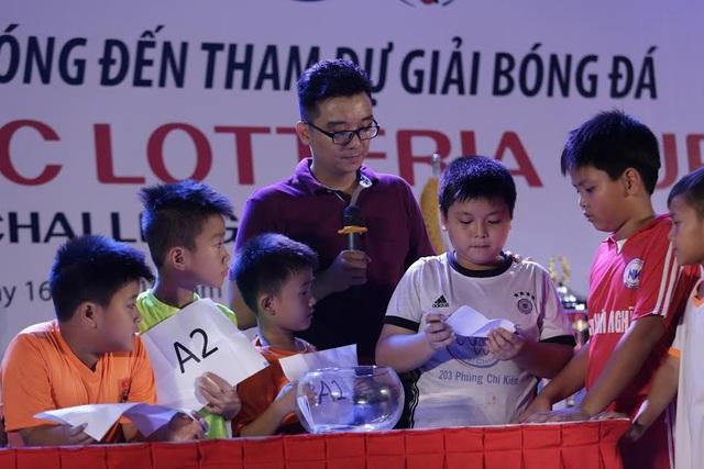 8 đội tham dự vòng chung kết bốc thăm chia bảng