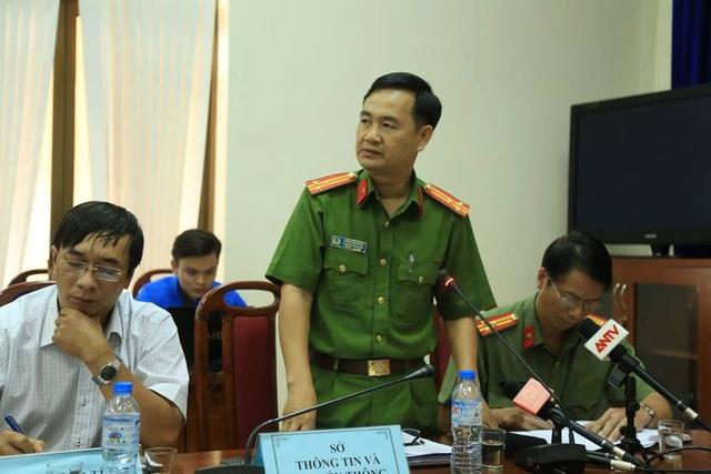 Thượng tá Đặng Văn Hồng - Trưởng phòng CSHS công an tỉnh Bà Rịa - Vũng Tàu.