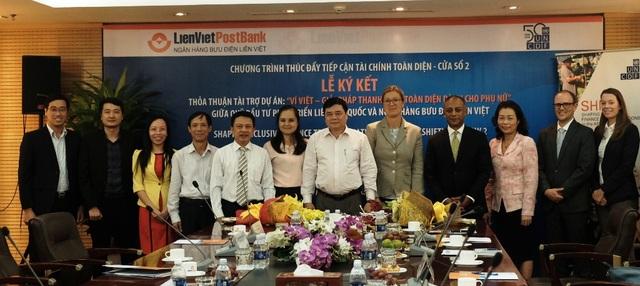 LienVietPostBank và UNCDF ký kết thỏa thuận tài trợ phát triển Ví Việt cho phụ nữ - 2
