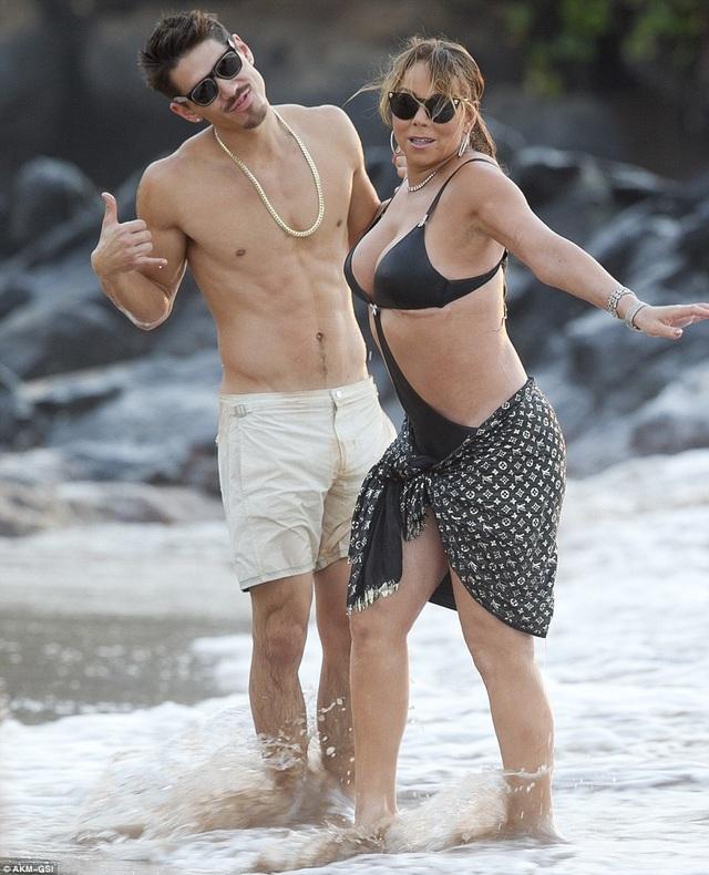 Mariah Carey hạnh phúc và trẻ trung hơn từ khi yêu người mới