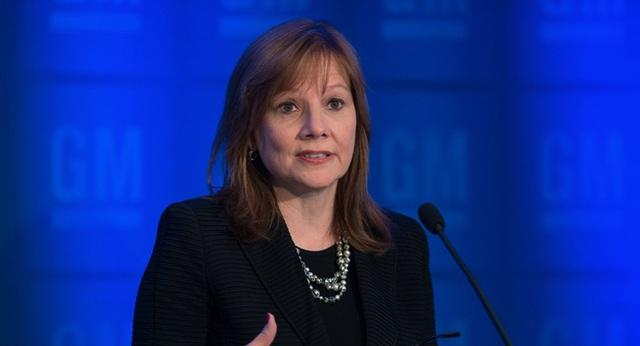 Bà Barra là CEO nữ đầu tiên của GM, nhậm chức vào năm 2014 và kiêm nhiệm chức chủ tịch trong năm 2016 này.