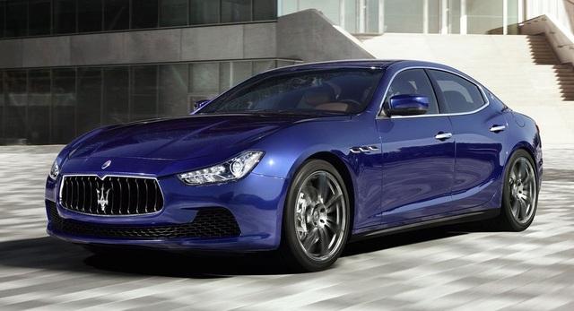 Mẫu Maserati Ghibli