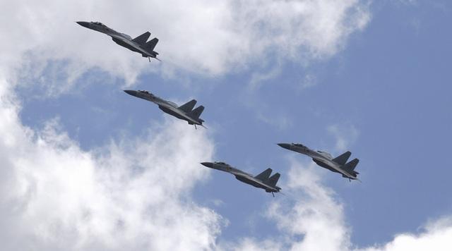 Các máy bay chiến đấu của Không quân Trung Quốc. (Ảnh minh họa: Reuters)