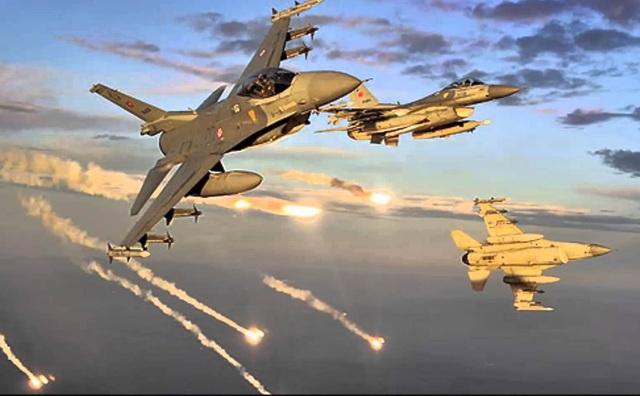 Máy bay chiến đấu F-16 của Thổ Nhĩ Kỳ. (Ảnh minh họa: AFP)