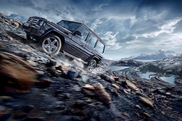 Mercedes-Benz G-Class là một trong những đại diện tiêu biểu của dòng SUV