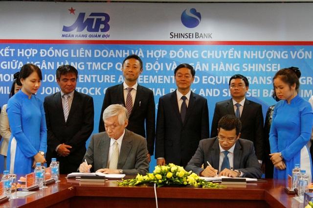 MB – Shinsei Bank (Nhật Bản) ký kết Hợp đồng Liên doanh Tài chính tiêu dùng - 1