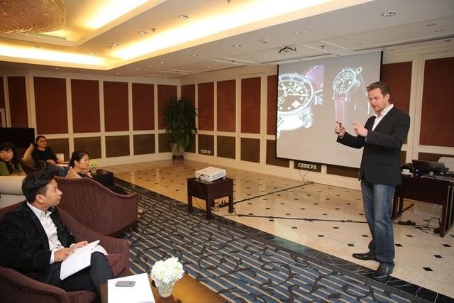 Chuyến viếng thăm của những ông chủ thương hiệu đồng hồ hàng đầu cho thấy Việt Nam thị trường vô cùng tiềm năng.