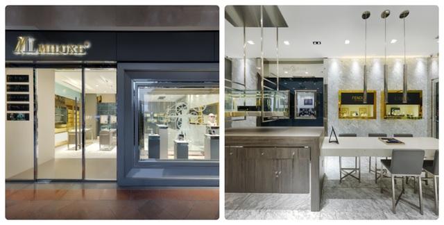 Hệ thống Miluxe Boutique với những tiêu chuẩn khắt khe nhất về hình ảnh trưng bày.