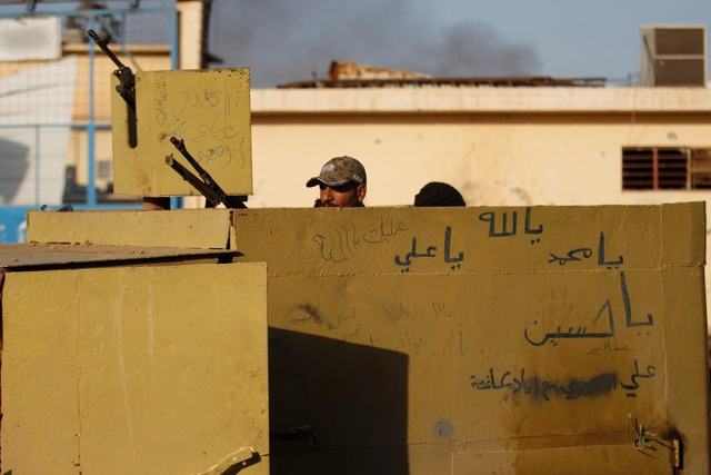 Chiến dịch giải phóng Mosul của Iraq có sự trợ giúp của lực lượng liên quân do Mỹ đứng đầu. (Ảnh: Reuters)