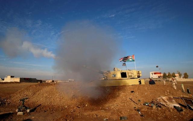Cảnh chiến sự khốc liệt tại sào huyệt của phiến quân IS ở Iraq - 12