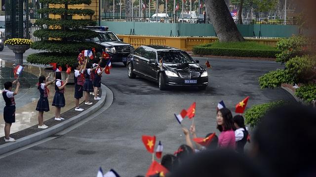 Hình ảnh Lễ đón Tổng thống Pháp tại Phủ Chủ tịch - 3