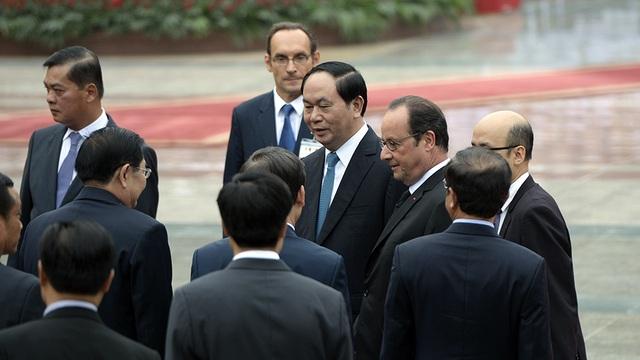 Hình ảnh Lễ đón Tổng thống Pháp tại Phủ Chủ tịch - 2