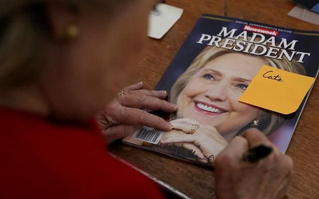 Ấn bản Madam President của Newsweek. (Ảnh: Getty)