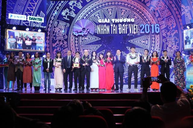 Nhân tài Đất Việt 2016 vinh danh 2 giải Nhất Công nghệ thông tin - 5