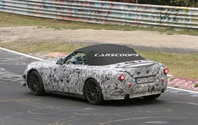 Mẫu xe kế nhiệm BMW Z4 trên đường chạy thử - 7