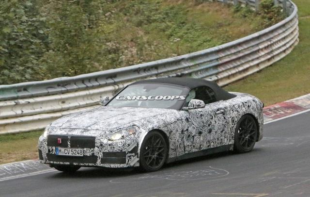 Mẫu xe kế nhiệm BMW Z4 trên đường chạy thử - 5